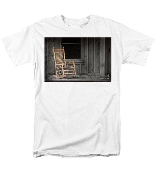 Men's T-Shirt  (Regular Fit) featuring the photograph Dock Chair by Sebastian Mathews Szewczyk