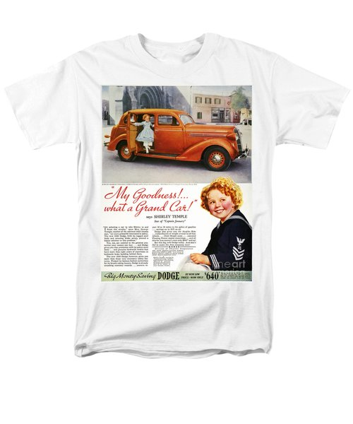 Dodge Automobile Ad, 1936 Men's T-Shirt  (Regular Fit) by Granger