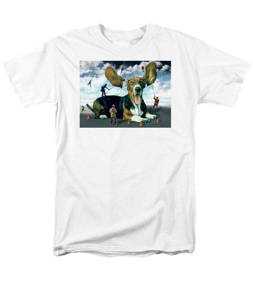 Dog Construction Men's T-Shirt  (Regular Fit)