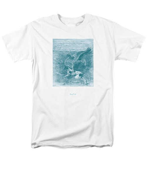 Men's T-Shirt  (Regular Fit) featuring the painting Dog Fish by David Davies