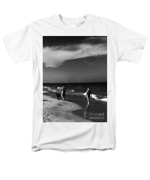 Dog Walk Men's T-Shirt  (Regular Fit) by WaLdEmAr BoRrErO