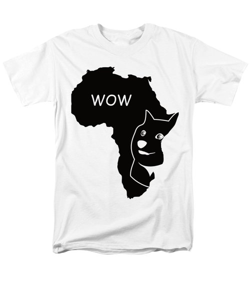 Dogecoin In Africa Men's T-Shirt  (Regular Fit) by Michael Jordan