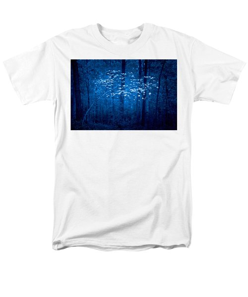 Men's T-Shirt  (Regular Fit) featuring the photograph Dogwoods Of Texas by Linda Unger