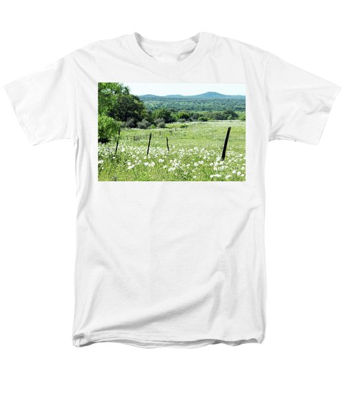 Men's T-Shirt  (Regular Fit) featuring the photograph Done In White by Joe Jake Pratt