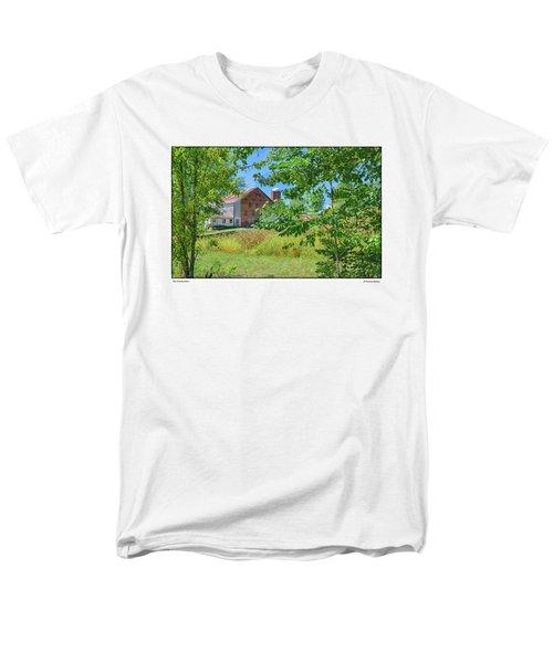 Donkey Barn Men's T-Shirt  (Regular Fit) by R Thomas Berner
