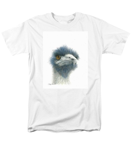 Dont Mess With Emu Men's T-Shirt  (Regular Fit) by Phyllis Howard