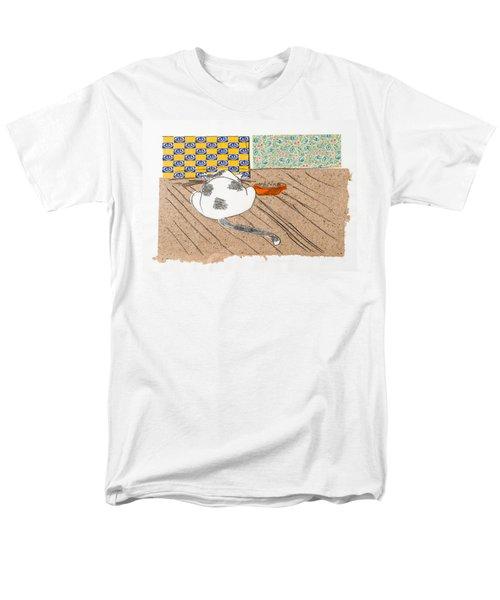 Don't Touch Me Or I Will Eat You Too Men's T-Shirt  (Regular Fit) by Leela Payne