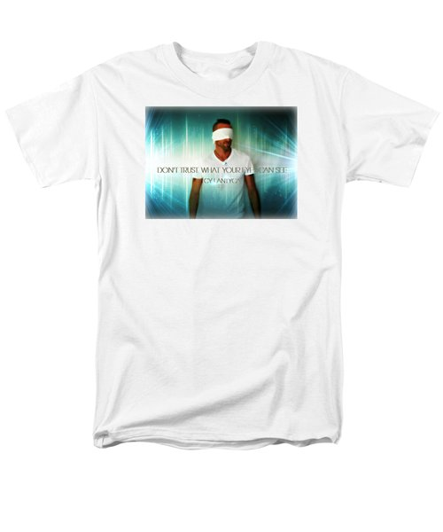 Men's T-Shirt  (Regular Fit) featuring the photograph Don't Trust by Cyryn Fyrcyd