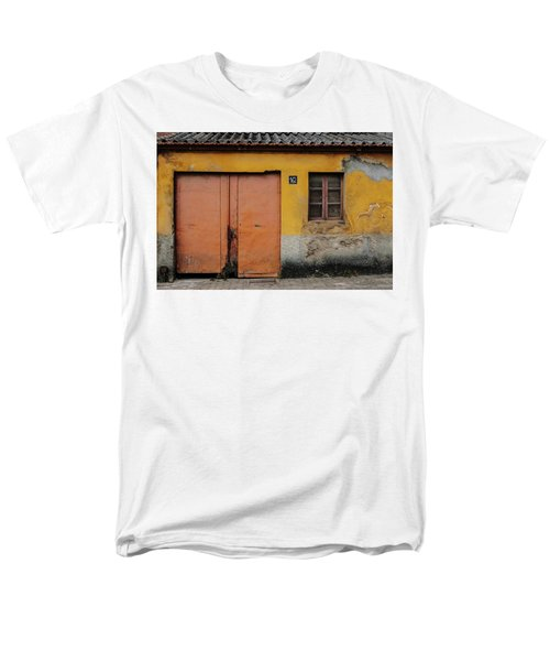 Men's T-Shirt  (Regular Fit) featuring the photograph Door No 162 by Marco Oliveira