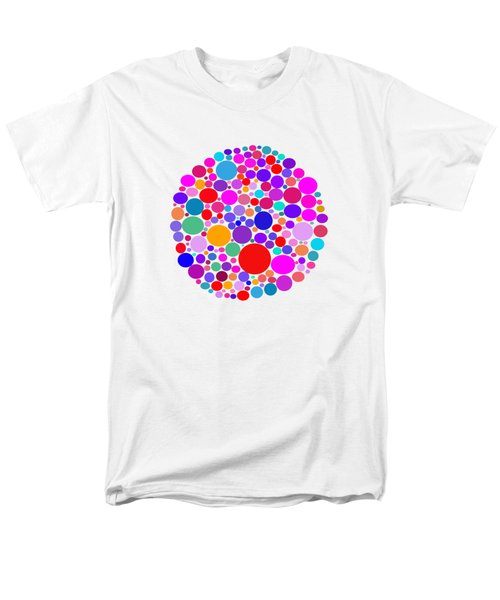 Dots 03 Men's T-Shirt  (Regular Fit) by Bill Owen