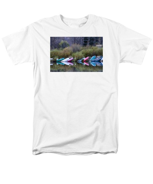 Downtime At Beaver Lake Men's T-Shirt  (Regular Fit) by Alana Thrower