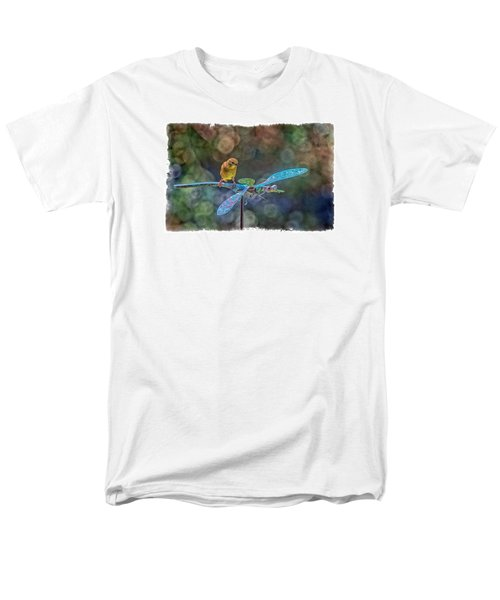 Men's T-Shirt  (Regular Fit) featuring the photograph Dragon Rider by Constantine Gregory