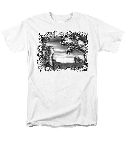 Dragon Whisperer  Men's T-Shirt  (Regular Fit) by Peter Piatt
