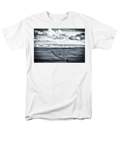 Men's T-Shirt  (Regular Fit) featuring the photograph Dramatic Landscape  by RKAB Works