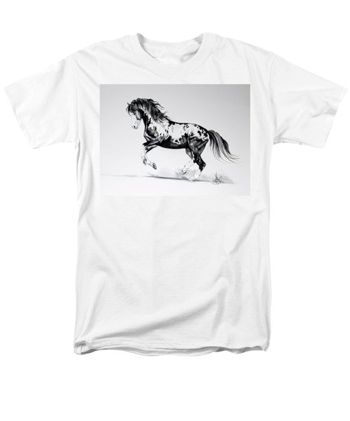 Dream Horse Series - Painted Dust Men's T-Shirt  (Regular Fit) by Cheryl Poland