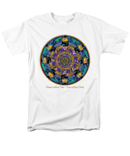 Dream Without Fear Love Without Limits Men's T-Shirt  (Regular Fit) by Michele Avanti