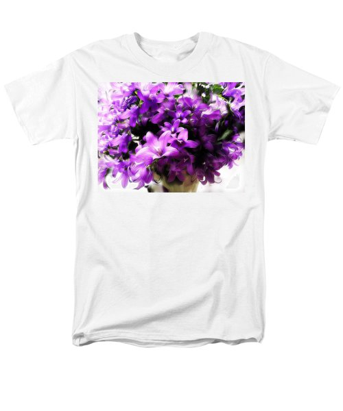 Dreamy Flowers Men's T-Shirt  (Regular Fit) by Gabriella Weninger - David