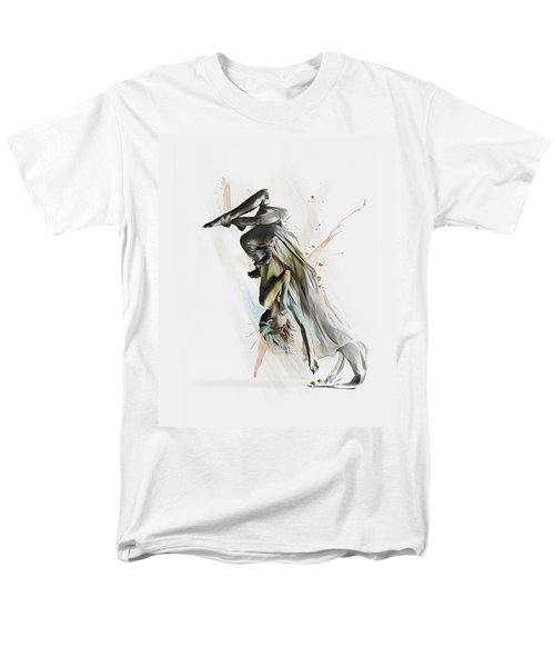 Men's T-Shirt  (Regular Fit) featuring the digital art Drift Contemporary Dance Two by Galen Valle