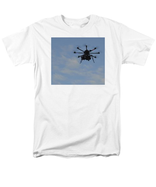 Drone Men's T-Shirt  (Regular Fit) by Linda Geiger