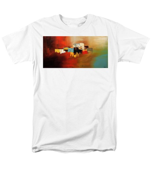 Men's T-Shirt  (Regular Fit) featuring the painting Du Soleil by Carmen Guedez