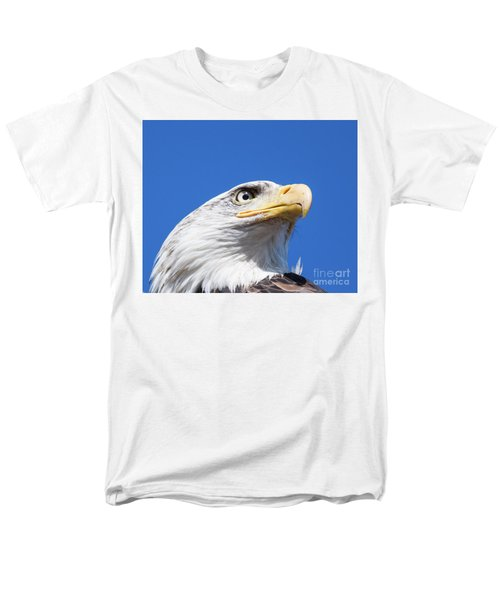 Men's T-Shirt  (Regular Fit) featuring the photograph Eagle by Jim  Hatch