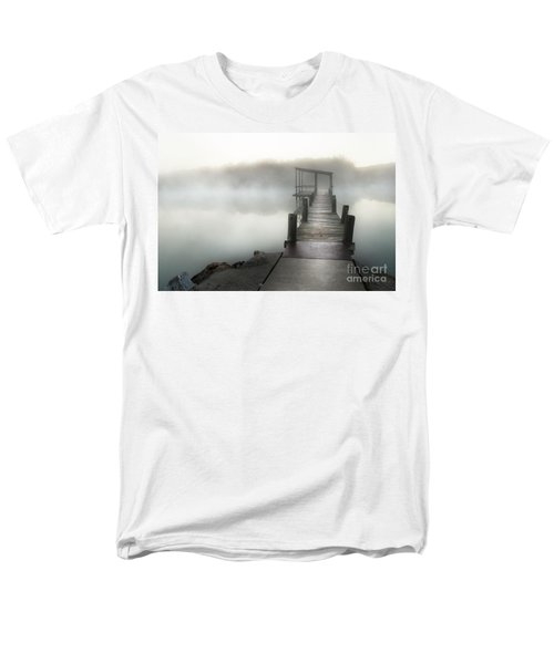 Yesterday's Early Morning Pier Men's T-Shirt  (Regular Fit) by Tamyra Ayles