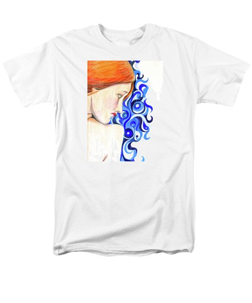 Men's T-Shirt  (Regular Fit) featuring the photograph Echo Looking Upon Narcissus by Jean Haynes