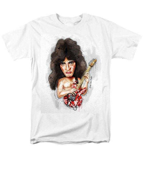 Eddie Van Halen Men's T-Shirt  (Regular Fit) by Gary Bodnar