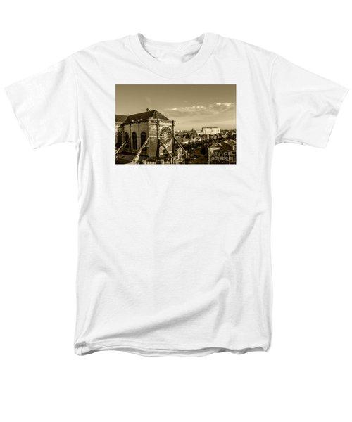 Men's T-Shirt  (Regular Fit) featuring the photograph Eglise De Saint Catherine by Pravine Chester