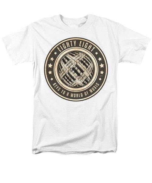 Eighty Eight Keys Men's T-Shirt  (Regular Fit) by Phil Perkins