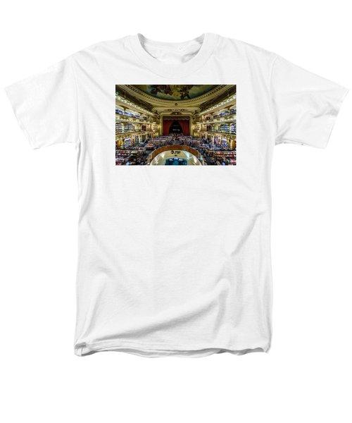 El Ateneo Grand Splendid Men's T-Shirt  (Regular Fit)