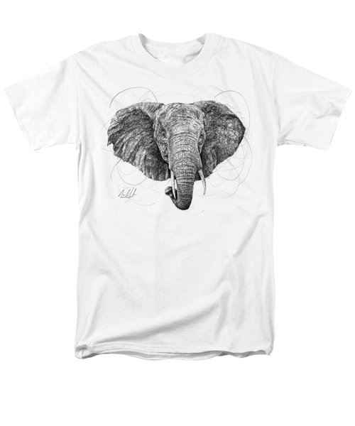 Elephant Men's T-Shirt  (Regular Fit) by Michael Volpicelli