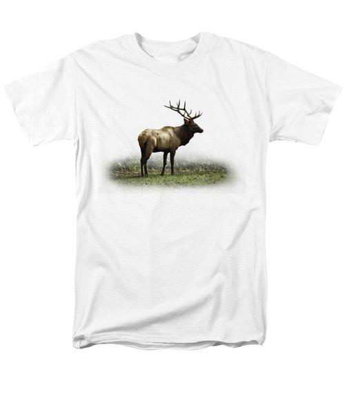 Elk IIi Men's T-Shirt  (Regular Fit) by Debra and Dave Vanderlaan