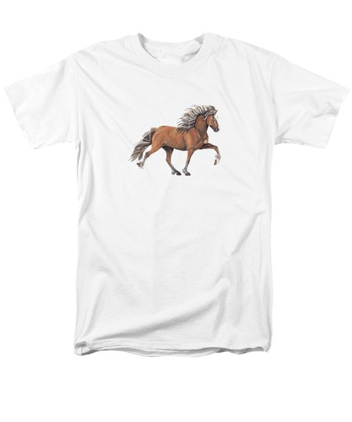 Men's T-Shirt  (Regular Fit) featuring the painting Elska by Shari Nees