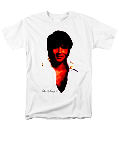 Elvis By Loxi Sibley Men's T-Shirt  (Regular Fit) by Loxi Sibley