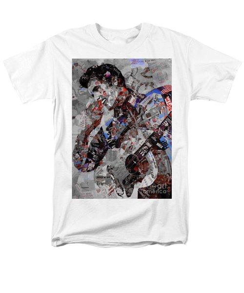 Elvis Presley Collage Men's T-Shirt  (Regular Fit) by Gull G