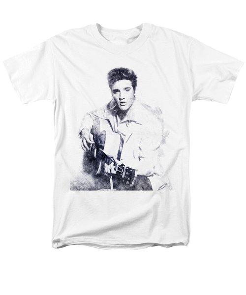 Elvis Presley Portrait 01 Men's T-Shirt  (Regular Fit)