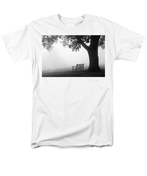 Empty Bench Men's T-Shirt  (Regular Fit) by Monte Stevens