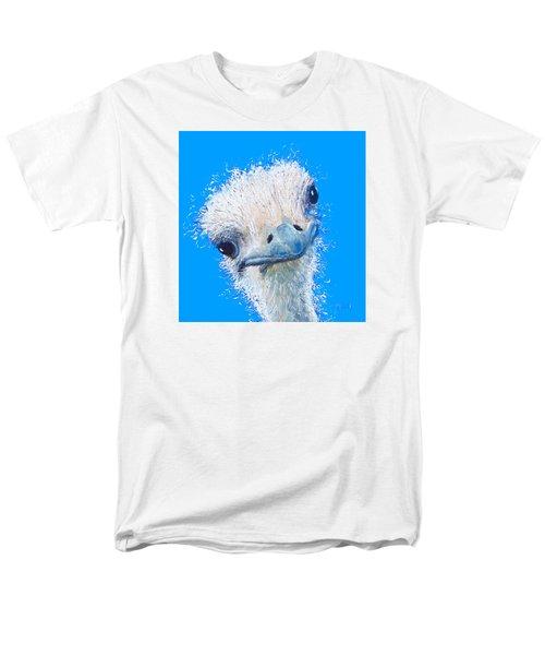 Emu Painting Men's T-Shirt  (Regular Fit) by Jan Matson