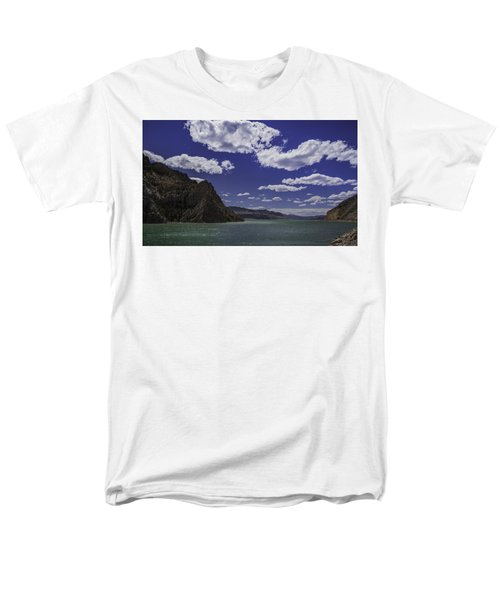Entering Yellowstone National Park Men's T-Shirt  (Regular Fit) by Jason Moynihan