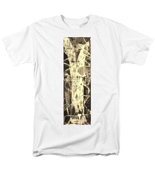 Men's T-Shirt  (Regular Fit) featuring the painting  Equity by Carol Rashawnna Williams
