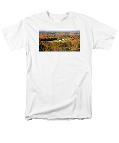 Men's T-Shirt  (Regular Fit) featuring the photograph Erin Wisconsin  by Ricky L Jones