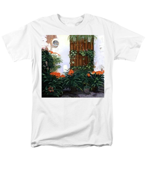 Men's T-Shirt  (Regular Fit) featuring the painting Espana by Lynne Reichhart