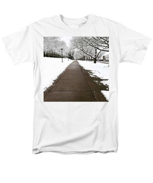 Winter Walks  Men's T-Shirt  (Regular Fit) by Cyrionna The Cyerial Artist