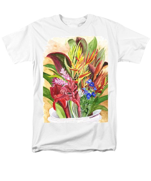 Everywhere There Were Flowers Men's T-Shirt  (Regular Fit) by Eric Samuelson