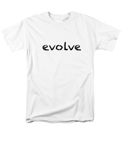 Evolve Men's T-Shirt  (Regular Fit) by Bill Owen