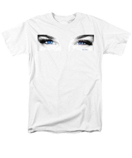 Men's T-Shirt  (Regular Fit) featuring the photograph Eye Sea  by Shana Rowe Jackson