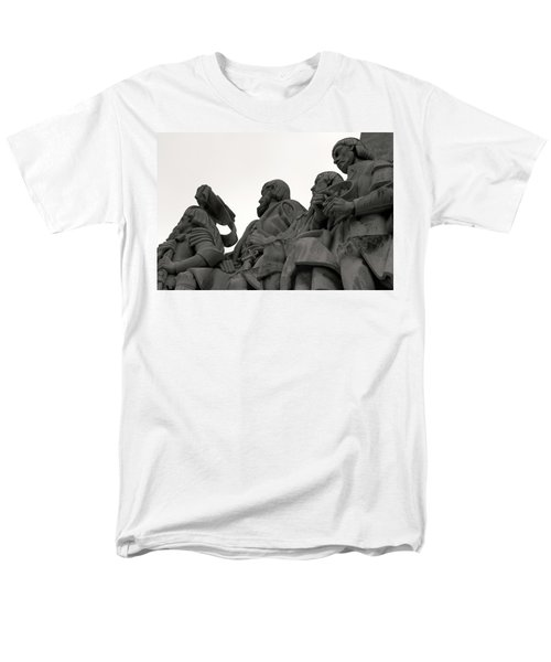 Men's T-Shirt  (Regular Fit) featuring the photograph Faces Of The Monument by Lorraine Devon Wilke