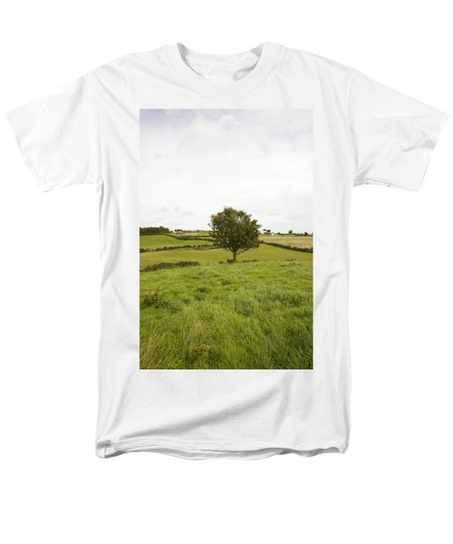 Men's T-Shirt  (Regular Fit) featuring the photograph Fairy Tree In Ireland by Ian Middleton