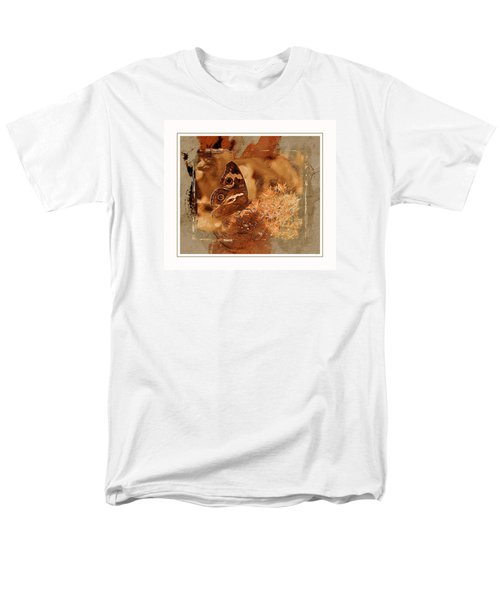 Fall Butterfly Men's T-Shirt  (Regular Fit) by Karen McKenzie McAdoo
